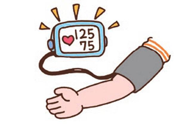 血圧のイラスト